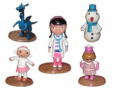 Doc McStuffins Lambie Playset 5 Figure Cake Topper * USA SELLER* Toy Doll Set](Doc Mcstuffins Cake Toppers)