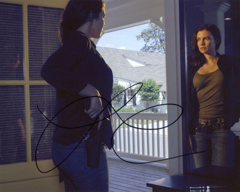 """Lauren Cohan """"The Walking Dead"""" AUTOGRAPH Signed 8x10 Photo F ACOA"""