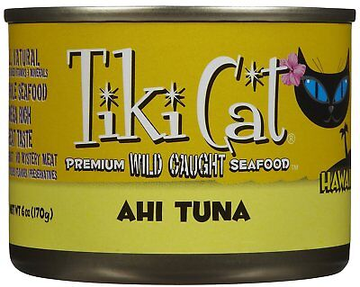 Tiki Cat Hawaiian Grill Ahi Tuna - 8 x 6 oz
