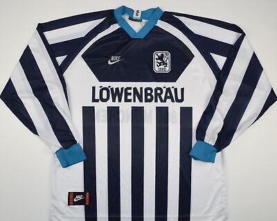 1994-1996 1860 MUNICH NIKE AWAY FOOTBALL SHIRT (SIZE XL) image
