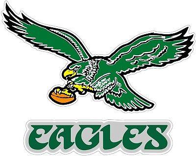 - Philadelphia Eagles Color Die Cut Vinyl Decal Sticker - You Choose Size