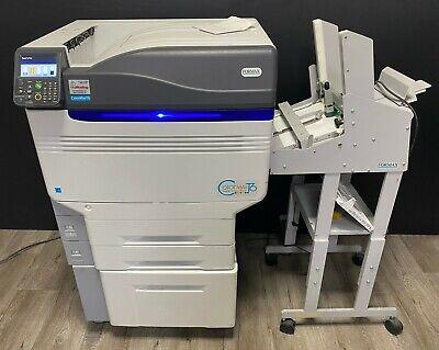 Colormax T6 4 Color White Printer Envelope Feeding Oki 942 Formax Printer
