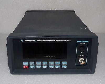 Newport 2835-c Multi Function Optical Power Meter