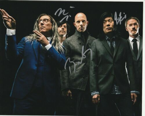 * A PERFECT CIRCLE * signed 8x10 photo * HOWERDEL, MCJUNKINS, FRIEDL * 3