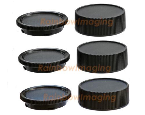 (3 Pack) Lens Rear Cap Body Cover Leica M Mount M8 M9 M10 Ricoh GXR A12 US Ship