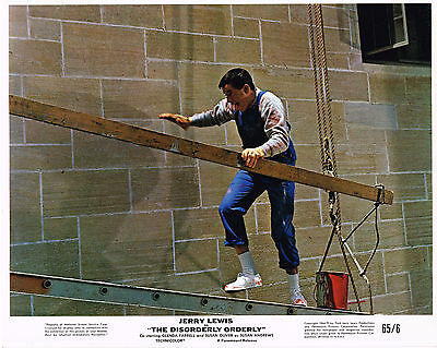 """The Disorderly Orderly 1965  8x10"""" color movie still photo"""