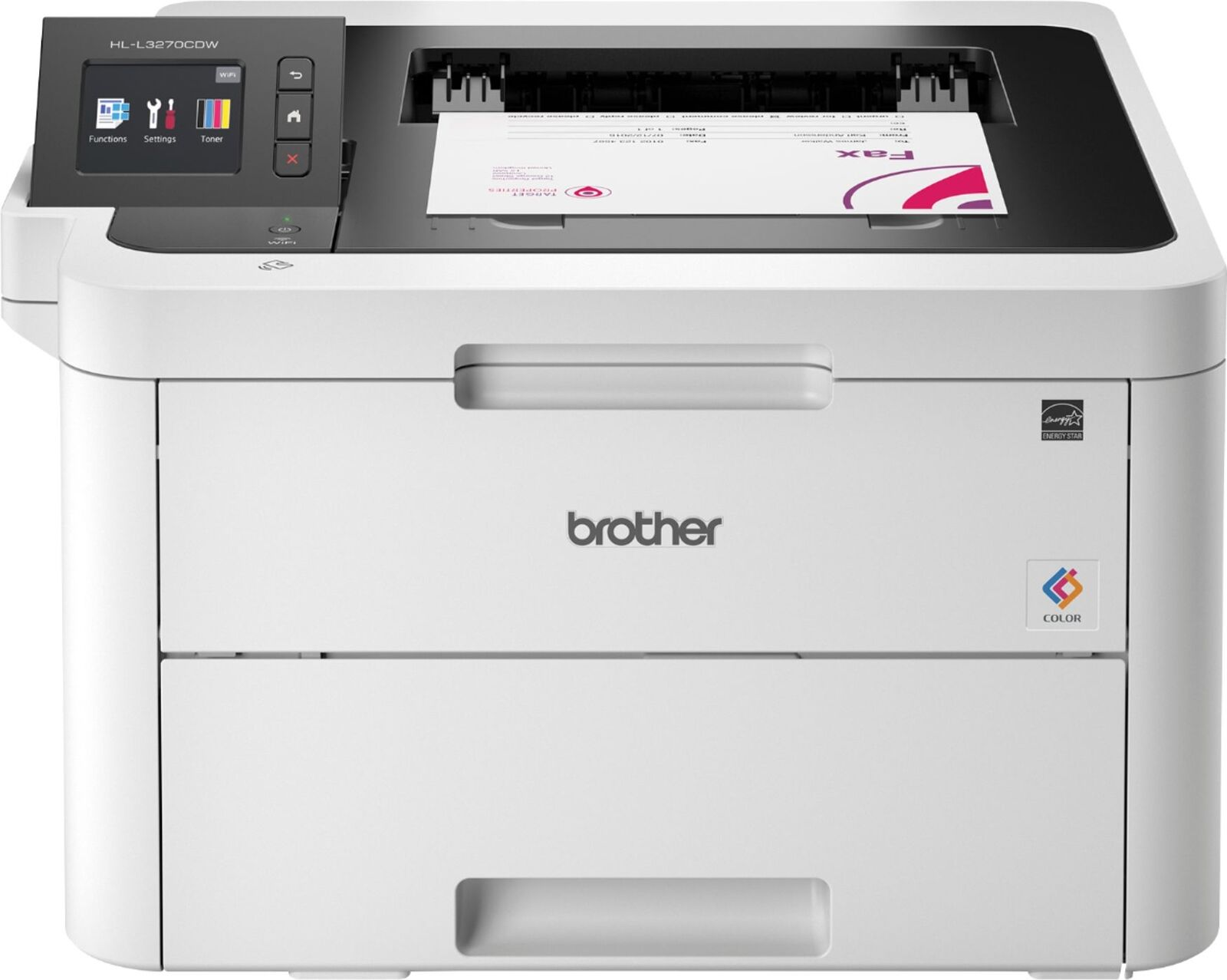 Brother - HL-L3270CDW Wireless Color Printer - White
