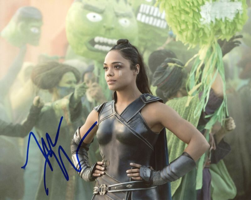 "Tessa Thompson ""Thor: Ragnarok"" AUTOGRAPH Signed 8x10 Photo C"