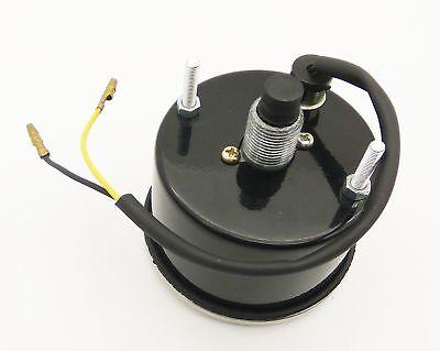 Vintage Replica Smith Speedometer 0-120 Mph BSA Royal Enfield Norton Chrome Rims