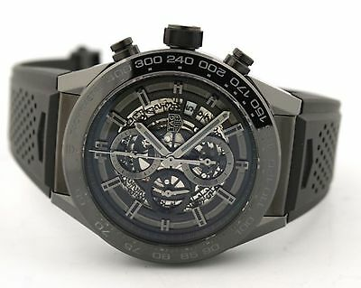 Tag Heuer Carrera HEUER 01 Automatic Chronograph Black Ceramic CAR2A90.FT6071