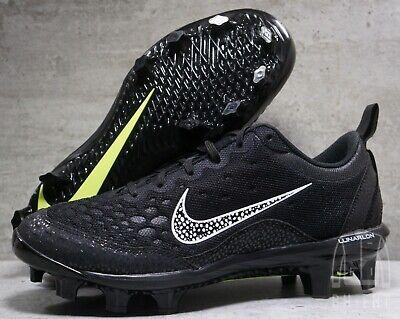 d4ae4abe5 Nike Lunar Hyperdiamond 2 Black White 856493-011 Womens Softball Cleats  Size 8.5
