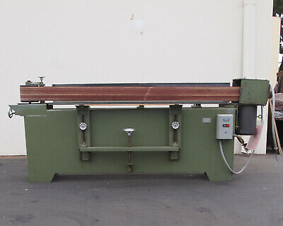 Rodgers 40a Edgesander Single Platen 6 X 74 Woodworking Machinery