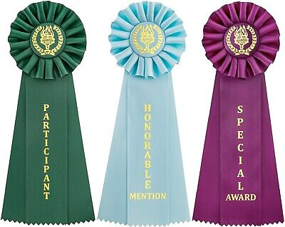 Victory Recognition Ribbons Honorable Mention - Participant - Special Award](Participant Ribbon)