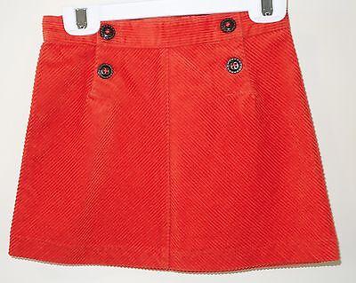 Jack Halloween Line Orange Corduroy Skirt Girl's Sz 5T (Halloween-line)