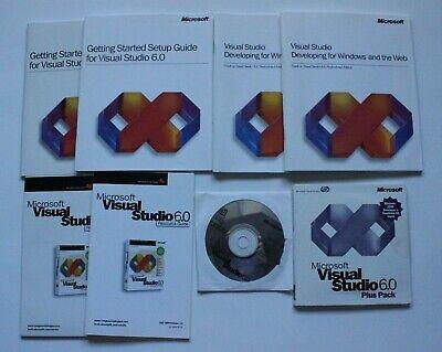 Microsoft Visual Studio 6.0 Professional Edition Windows Development Software