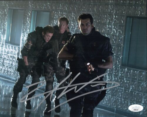 ZACK WARD Signed RESIDENT EVIL 8X10 Photo IN PERSON Autograph JSA COA Cert