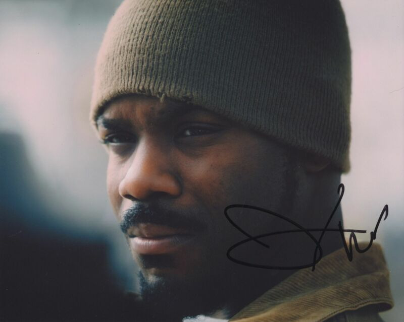 JOVAN ADEPO SIGNED WHEN THEY SEE US 8X10 PHOTO