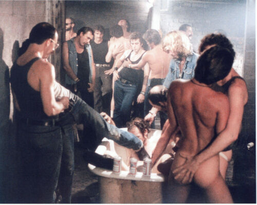 CRUISING AL PACINO UNDER COVER IN GAY LEATHER LEATHER SCENE PHOTO