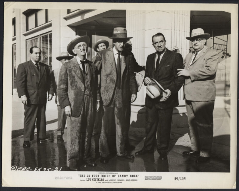 The 30 Foot Bride of Candy Rock   '59 JIMMY CONLIN CHARLES LANE GALE GORDON