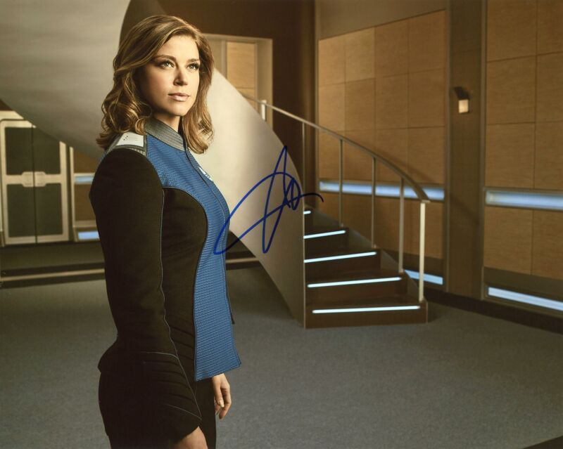 """Adrianne Palicki """"The Orville"""" AUTOGRAPH Signed 8x10 Photo B"""