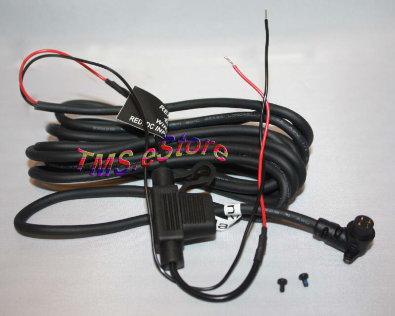 Motorcycle Power Cable Cord Genuine OEM Bare-Wire for Garmin Zumo 550 0101086100