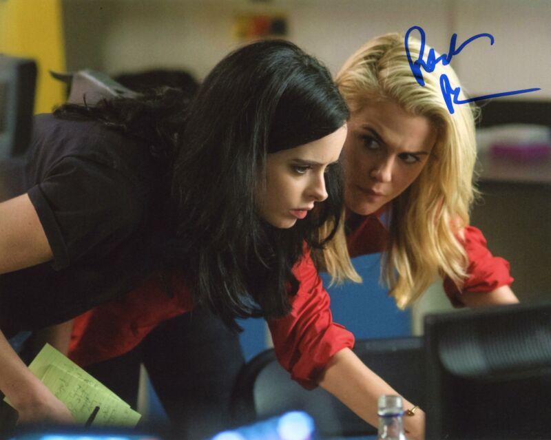 "Rachael Taylor ""Jessica Jones"" AUTOGRAPH Signed 8x10 Photo ACOA"