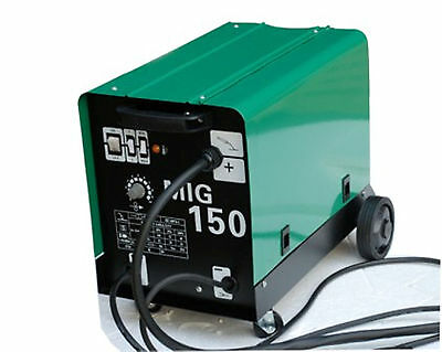 NEU HST Schutzgas Schweißgerät MIG MAG 150 Amp auch Fülldraht und Aluschweißen