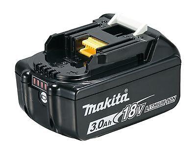 Makita Akku BL 1830 B 18V 3,0 Ah Li-Ion mit LED-Ladestandsanzeige Original Neu