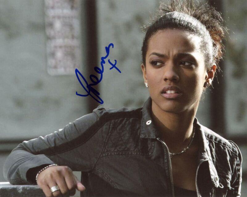"Freema Agyeman ""Doctor Who"" AUTOGRAPH Signed 8x10 Photo C ACOA"