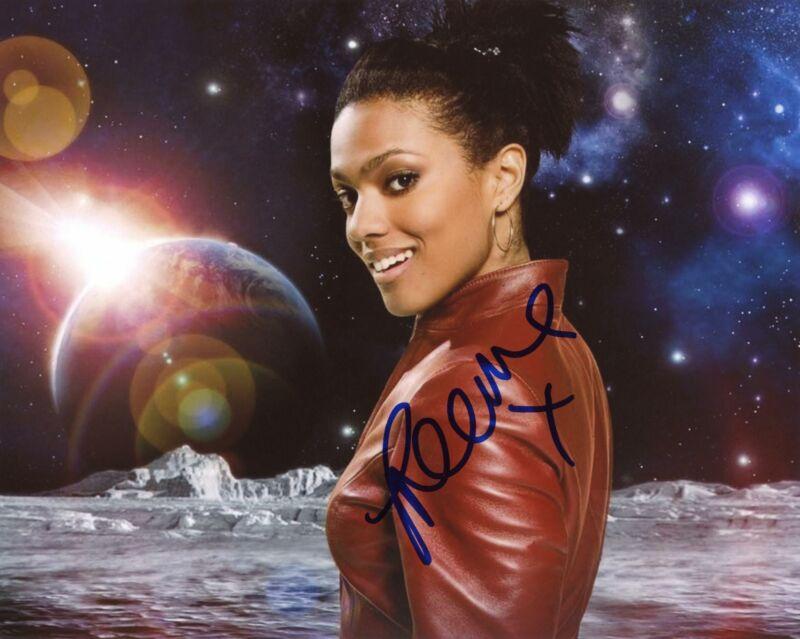 "Freema Agyeman ""Doctor Who"" AUTOGRAPH Signed 8x10 Photo D ACOA"