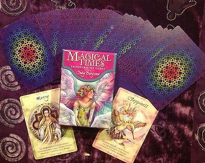 MAGICAL TIMES EMPOWERMENT CARDS JODY BERGSMA 44 CARD DECK ORACLE MAGIC NIP
