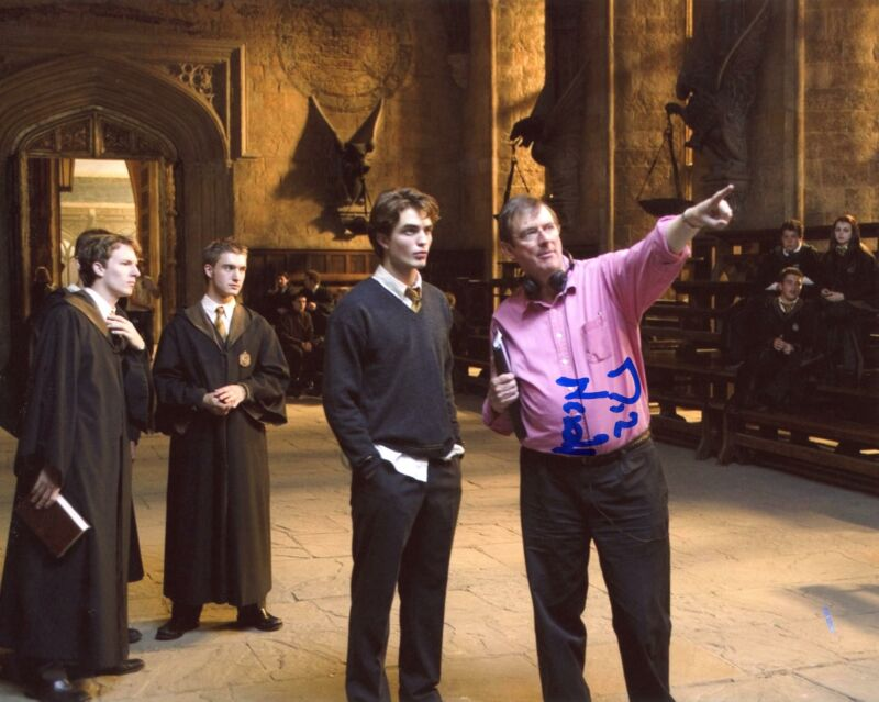 """Mike Newell """"Harry Potter and the Goblet of Fire"""" AUTOGRAPH Signed 8x10 Photo"""