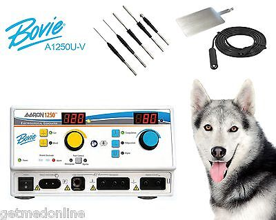New Bovie A1250u Electrosurgical Generator With Veterinary Package A1250u-v