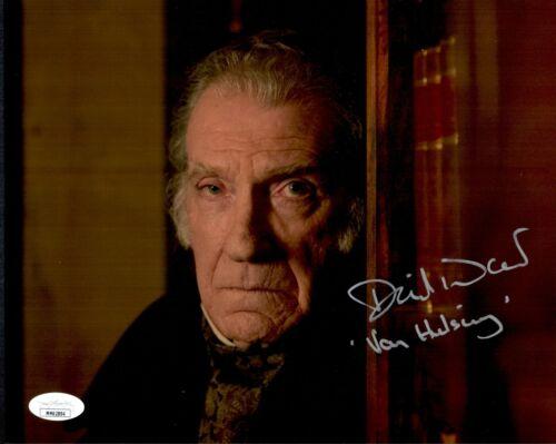 DAVID WARNER Signed Van Helsing PENNY DREADFUL 8x10 Photo JSA COA Cert