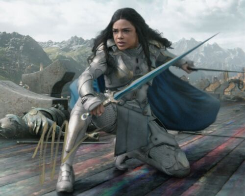 TESSA THOMPSON AUTHENTIC SIGNED 10X8 THOR RAGNAROK PHOTO AFTAL & UACC [14969]
