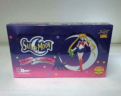 Sailor Moon Archival - Sealed Trading Card Hobby Box - 30 Packs, Dart 2000