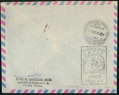 Mayfairstamps Chile 1975 Antarctic Expedition Armada De Chile Cover wwo97139