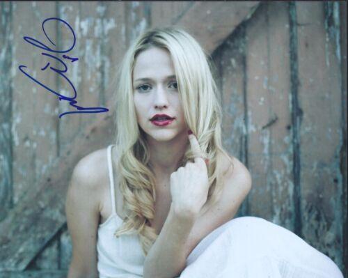Johanna Braddy Signed Autographed 8x10 Photo Quantico Actress Sexy Pose A