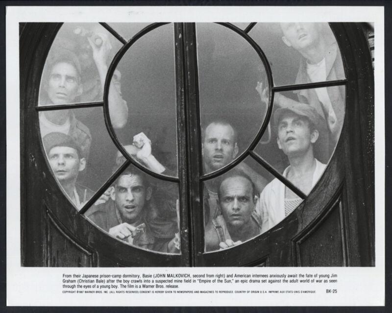 Empire Of The Sun '87 JOE PANTOLIANO JOHN MALKOVICH PRISONERS OF WAR WWII