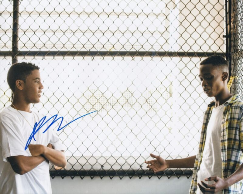 JHARREL JEROME signed (MR MERCEDES) 8X10 photo *Jerome Robinson* W/COA #1