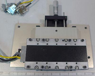 Parker Positioning Table Parker 802-7070b Linear Positioner With Parker 4413-l