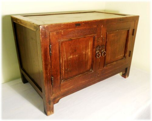 Antique Chinese Ming Chest (2910), Circa 1800-1849