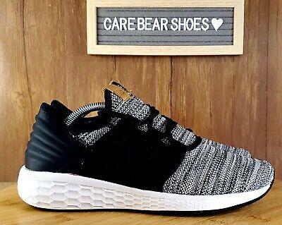 New Balance Cruz-V2 Fresh Foam Running Shoes Black Lace Up MCRUZKW2 size 9.5