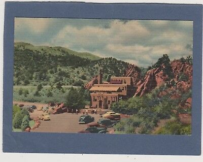 MINT VINTAGE LINEN-PIKES PEAK REGION-GARDEN OF THE GODS-COLORADO-THE HIDDEN INN