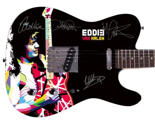 Van Halen Autographed Album LP Dvd Photo Guitar