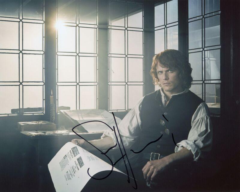 "Sam Heughan ""Outlander"" AUTOGRAPH Signed 8x10 Photo M ACOA"