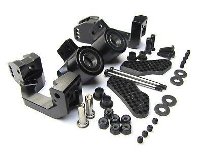 Hot Bodies D817 - FRONT HUBS caster blocks steering v2 d815 HBS204124 new (Hot Bodies Steering)