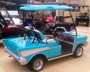 Ezgo golf cart body kit ebay 57 chevy custom golf cart body kit ezgo txt includes lights hardware sciox Images