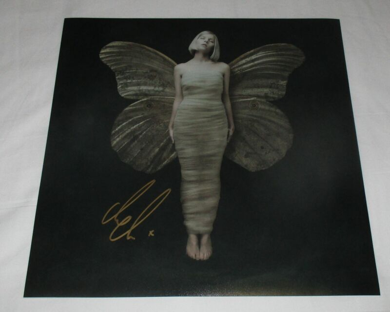 AURORA AKSNES SIGNED ALL MY DEMONS GREETING ME AS A FRIEND 12X12 PHOTO