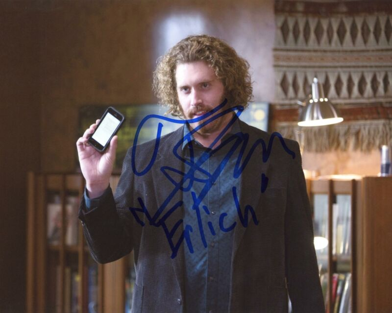"T.J. Miller ""Silicon Valley"" AUTOGRAPH Signed 8x10 Photo ACOA"